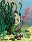 Mermaid by Snowy-Dragoness
