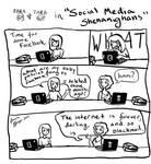 Tara and Sara in Social Media Shenanighans by Snowy-Dragoness