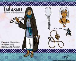 Org Infinitus App-Talaxan-The Arid Lodestone by Snowy-Dragoness