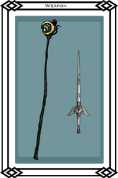 Cahyan's Weapons by Snowy-Dragoness