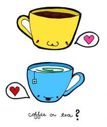Coffee or Tea by deconstructedstars