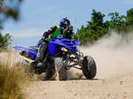 Drifting with a Raptor 660 by vinyo