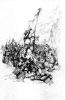 The Battle of Grunwald by kormak
