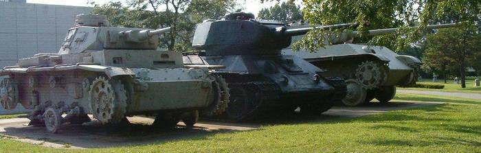 World War II Tankline by RBL-M1A2Tanker