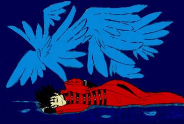 Sleeping angel by JohanaBlackMoon