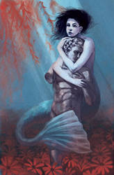 The Little Mermaid redux by Photia