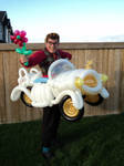 The Balloon Clown Car by Rupert-Appleyard