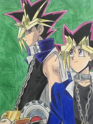 Yugi and Yami by GodRules311