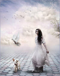 Comme au Paradis Blanc by MireilleD