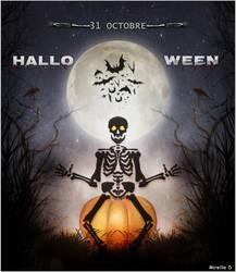 Carte Halloween by MireilleD