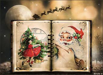 Livre de Noel Ancien by MireilleD