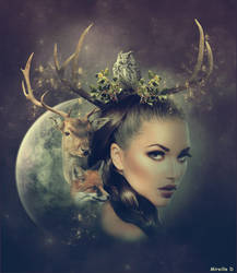 Portrait Nature Creatif by MireilleD