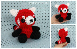 Red Panda Teddy Bear by syppahscutecreations