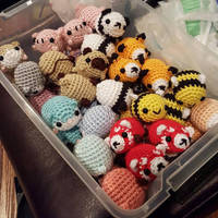 Pill Baby Bucket - Amigurumi Crochet Plushies by syppahscutecreations