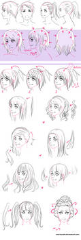 Hair and anatomy tutorial by JennaCaminschi