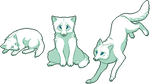 Pixel Fox - Arctic by chertan-koraki