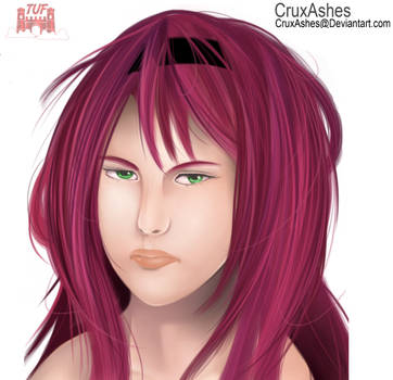 Talia Semi-Real (Angry Face)| CruxAshes by TheLimitlessFortress