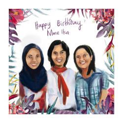 Birthday Present for Ika by ShanVrolijk