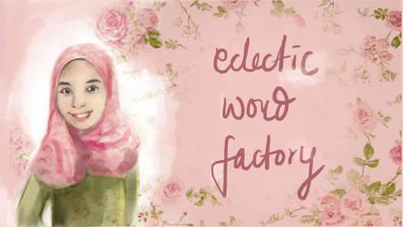 Eclectic Word Factory Tumblr Header by ShanVrolijk