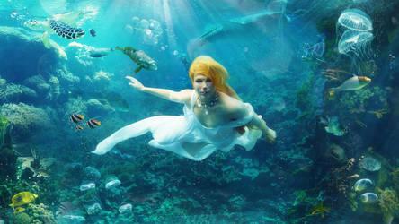 Sea Bride by ossdesign