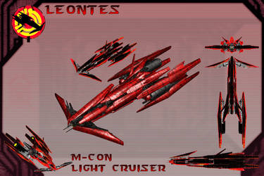 Leontes Light Cruiser by samurairyu