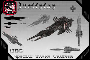 Justinian Class, Special Tasks Cruiser by samurairyu