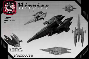Hippias Class Frigate(Redux) by samurairyu