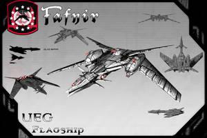 Fafnir, UEG Flagship(Redux) by samurairyu