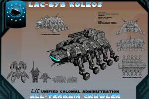 LAC-87B Koleos Crawler by samurairyu