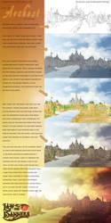 City of Archest(tutorial) by samurairyu