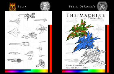The Machine, Vol 1 cover by samurairyu