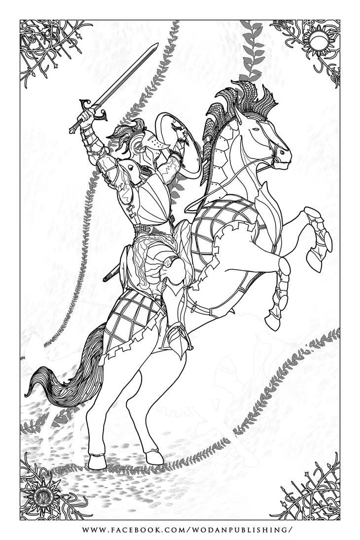 Volmerian Light Cavalry by samurairyu