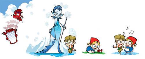 The Snow Queen by adipatijulian