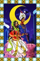 Buran and Mahmoud by adipatijulian