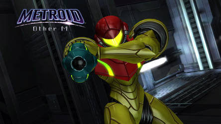 Metroid Other M Wallpaper by Burning8