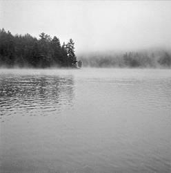Redpine Lake by fragilemuse-org