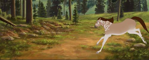 Running free  by Ninjaturtlegirl1
