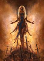 Daenerys Targaryen by dev4res