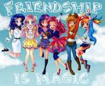 Friendship is Magic by semehammer