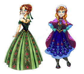 Anna Drawings by semehammer