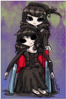 junko style: Kageri and Watashi by Danielle-chan