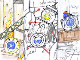 Glados's punishment by Danielle-chan
