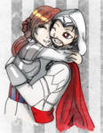 AT: Ezio and Rosalia by Danielle-chan