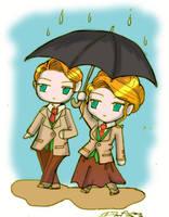 Umbrellas by Danielle-chan