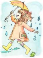 Autumn showers by Danielle-chan
