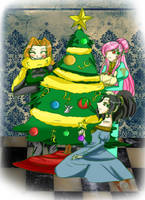 At: Belli Castle Christmas by Danielle-chan