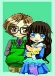 Aurelie and Eddie by Danielle-chan