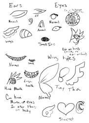 Cupcake children: Additional traits by Danielle-chan