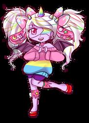 Cake Beast Mascot: Chihiro by Danielle-chan