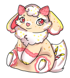 Gift: Lemon strawberry cake baby by Danielle-chan